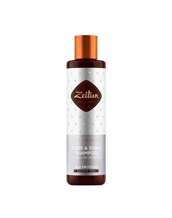 Купить Шампунь Zeitun, Шампунь для гладкости и блеска волос Ритуал сияния с протеинами шелка Zeitun