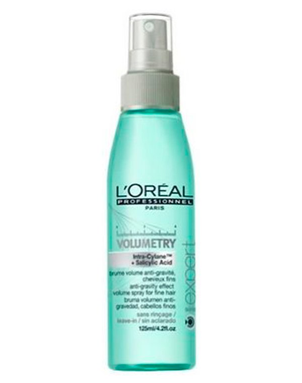 Спрей-уход для объёма волос Volumetry LorealБальзамы для сухих волос<br>Уход в виде спрея создает потрясающий объем. Он поднимает волосы у самых корней, придавая им упругость и силу.<br><br>Бренды: Loreal Professional<br>Вид товара: Несмываемый уход, защита<br>Область ухода: Волосы<br>Назначение: Для объема<br>Тип кожи, волос: Осветленные, мелированные, Окрашенные, Сухие, поврежденные, Нормальные, Тонкие<br>Косметическая линия: Линия Volumetry для объема волос