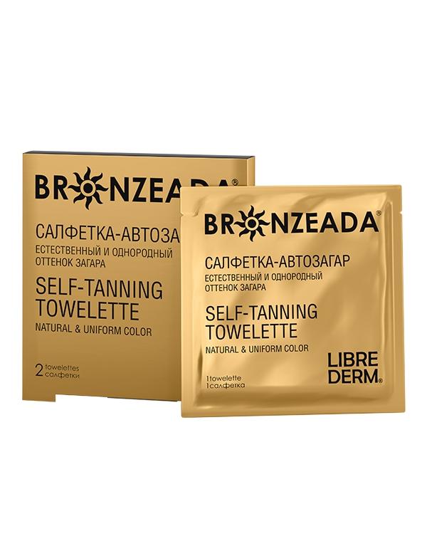 Салфетка-автозагар № 2 Bronzeada, Librederm