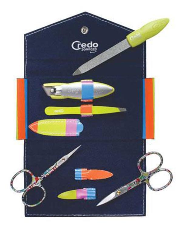 Маникюрный набор №2 комплект из 5 предметов Pop Art, Credo
