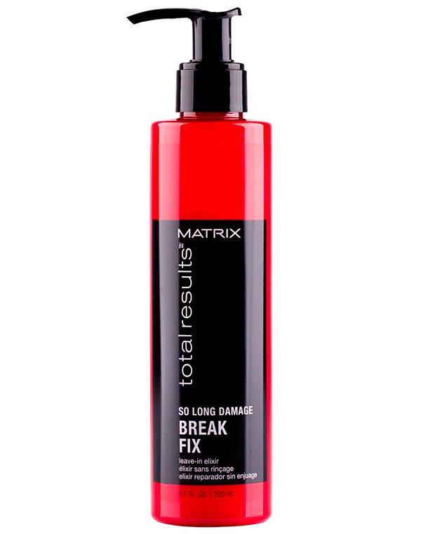 Несмываемый уход, защита MatrixСыворотки для восстановления волос<br>Средство комплексного воздействия: укрепляет волосы изнутри и разглаживает снаружи. Делает волосы мягкими и шелковистыми, придает им естественный блеск. Эликсир имеет невесомую формулу, которая не утяжеляет волосы.<br><br>Бренды: Matrix<br>Вид товара: Несмываемый уход, защита<br>Область ухода: Волосы<br>Назначение: Увлажнение и питание, Восстановление и защита<br>Тип кожи, волос: Осветленные, мелированные, Окрашенные, Сухие, поврежденные, Тонкие<br>Косметическая линия: Линия Total Results So Long Damage для поврежденных волос с керамидами