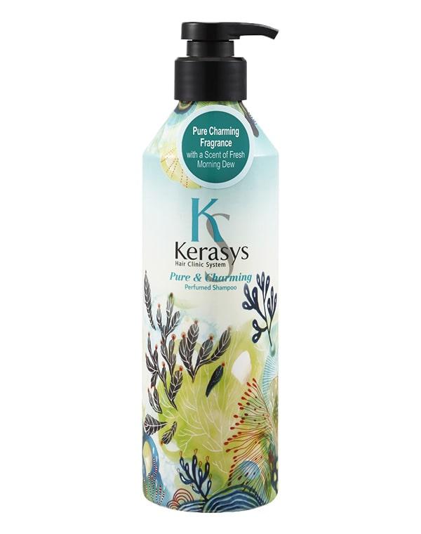 Шампунь для волос Charm KeraSys, 600 мл шампунь kerasys для волос увлажняющий 600 мл