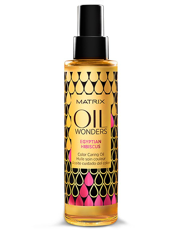 Масло для волос MatrixМаски для окрашеных волос<br>Масло «Египетский гибискус» для ухода за окрашенными волосами всех типов. Сохраняет косметический цвет надолго, защищает его от вымывания...<br><br>Бренды: Matrix<br>Вид товара: Масло для волос<br>Область ухода: Волосы<br>Назначение: Восстановление волос, Защита цвета<br>Тип кожи, волос: Осветленные, мелированные, Окрашенные, Вьющиеся, Сухие, поврежденные, Нормальные, Тонкие<br>Косметическая линия: Линия Oil Wonders ухода на основе экзотических масел