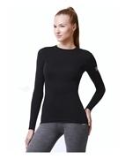 Термобелье футболка женская с длинным рукавом Norveg, серии Soft футболка женская лотос с длинным рукавом yogadress 0 2 кг l 48 малиновый