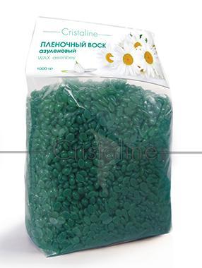 Горячие и пленочные воски Cristaline Пленочный воск азуленовый в гранулах, CRISTALINE воск для эпиляции cristaline натуральный