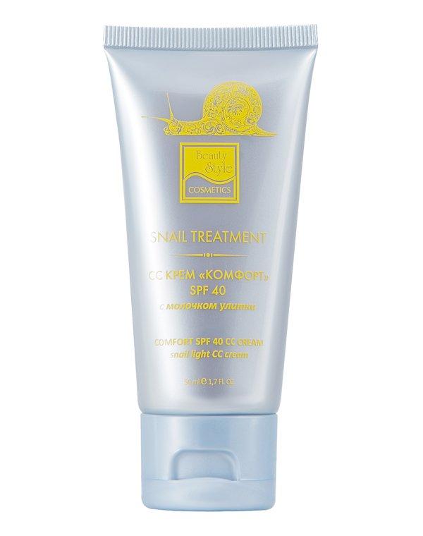 СС крем «Комфорт» SPF 40, Beauty StyleКрема для восстановления кожи лица<br>Крем для ежедневного ухода за кожей любого типа, особенно сухой, чувствительной и гиперчувствительной, склонной к куперозу. Смягчает и увлажняет кожу, эффективно скрывает недостатки, выравнивает тон и цвет кожи. Обеспечивает надежную защиту от негативного...<br><br>Бренды: Beauty Style<br>Вид товара: Крем<br>Область ухода: Лицо, Шея и подбородок<br>Назначение: Увлажнение и питание, Ежедневный уход, Восстановление и защита<br>Тип кожи, волос: Сухая, Увядающая, Жирная и комбинированная, Нормальная, Чувствительная, С куперозом<br>Возрастная группа: Более 40, До 30, До 40<br>Метод воздействия: Дарсонвализация, Дезинкрустация, Фракционный лазер, Гальваника, Мезопорация, Микродермабразия, Микронидлинг, Фонофорез, Редолиз Токи Лотти, РФ Лифтинг, УЗ Чистка