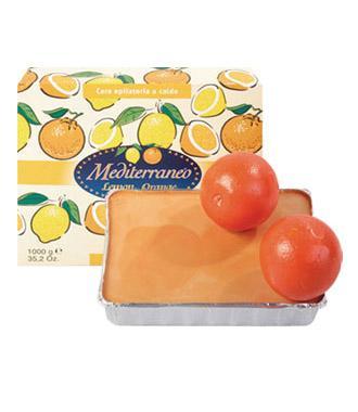 Горячий воск Rica апельсиновый, 1кг Созвездие Красоты 1122.000