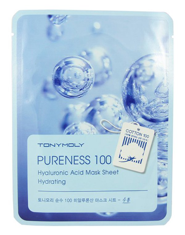 Маска Tony Moly Тканевые маски Pureness 100 Mask Sheet, Tony Moly спонж tony moly water latex free sponge 1 шт