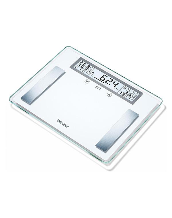 Весы напольные электронные BG 51 XXL, Beurer, прозрачные