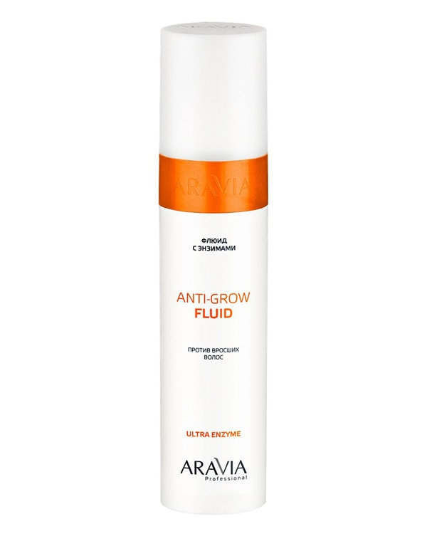 Флюид с энзимами против вросших волос Anti-Grow Fluid, ARAVIA Professional, 250 мл флюид для волос more inside relaxing mosturizing fluid флюид 125мл