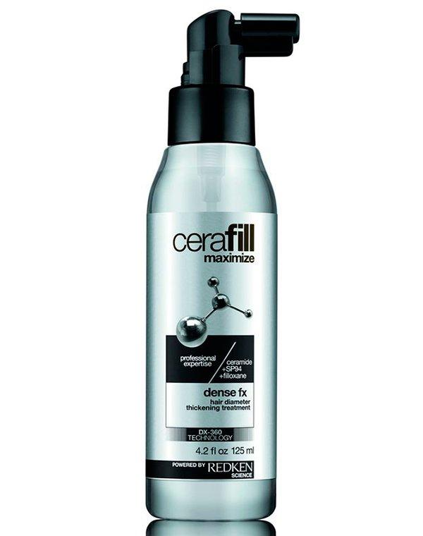 Несмываемый уход для увеличения диаметра и плотности волос Cerafill Maximize Dense Fx RedkenСыворотки для восстановления волос<br>Несмываемый уход предназначен для ежедневного использования. Он увеличивает диаметр волосяного стержня, делает локоны сияющими. Благодаря чему прическа визуально выглядит более объемной.<br><br>Бренды: Redken<br>Вид товара: Несмываемый уход, защита<br>Область ухода: Волосы<br>Назначение: Для объема, Восстановление и защита<br>Тип кожи, волос: Сухие, поврежденные, Нормальные, Тонкие<br>Косметическая линия: Линия Cerafill для объема и плотности истонченных волос