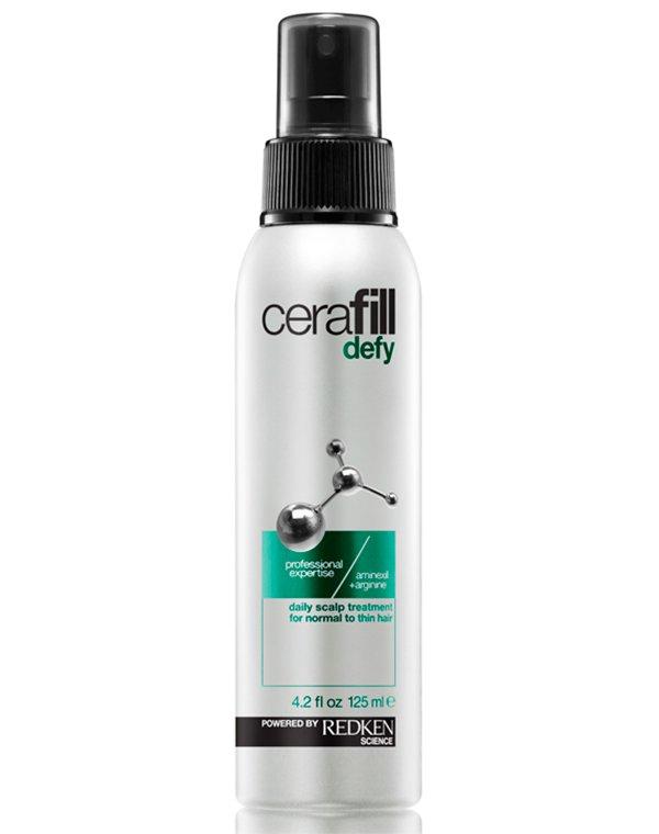 Несмываемый уход, защита RedkenСыворотки для восстановления волос<br>Ежедневный несмываемый уход позволяет исключить истончение прядей. Он увеличивает диаметр волосяного стержня. Уникальная формула препарата, включающего в свой состав аминексил и аргинин, способствует комплексному питанию фолликул и кожи головы.<br><br>Бренды: Redken<br>Вид товара: Несмываемый уход, защита<br>Область ухода: Волосы<br>Назначение: Для объема, Восстановление и защита<br>Тип кожи, волос: Сухие, поврежденные, Нормальные, Тонкие<br>Косметическая линия: Линия Cerafill для объема и плотности истонченных волос
