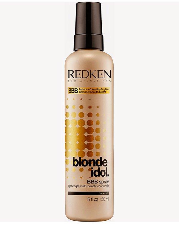 Легкий многофункциональный спрей-уход Blonde Idol (BBB SPRAY) RedkenТермозащита<br>Спрей-уход для прядей Redken Blonde Idol оказывает глубокое воздействие на локоны. Он насыщает волосы влагой, восстанавливает пряди и наполняет прическу потрясающим сиянием. Препарат не требует смывания. Он обеспечивает защиту прядей от негативного термов...<br><br>Бренды: Redken<br>Вид товара: Несмываемый уход, защита<br>Область ухода: Волосы<br>Назначение: Защита цвета, Термозащита, Для секущихся кончиков, Восстановление и защита<br>Тип кожи, волос: Окрашенные, Осветленные, мелированные<br>Косметическая линия: Линия Blonde Idol для светлых волос