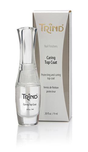 Лак для ногтей Trind Верхнее покрытие Trind, 9 ml акварельное верхнее покрытие притягательный пурпур
