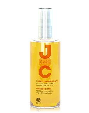 Масло для волос BarexМасла от секущихся кончиков<br>Масло рекомендовано для экстренного восстановления и бережного ухода за ослабленными локонами. Оно делает волосы шелковистыми и сияющи...<br><br>Бренды: Barex<br>Вид товара: Масло для волос<br>Область ухода: Волосы<br>Назначение: Восстановление волос, Восстановление и защита<br>Тип кожи, волос: Осветленные, мелированные, Окрашенные, Вьющиеся, Сухие, поврежденные, Нормальные, Тонкие<br>Косметическая линия: Joc care Линия для ухода по длине волос