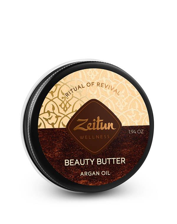 Купить Масло Zeitun, Крем-масло для тела Ритуал восстановления с органическим маслом арганы Zeitun, РОССИЯ