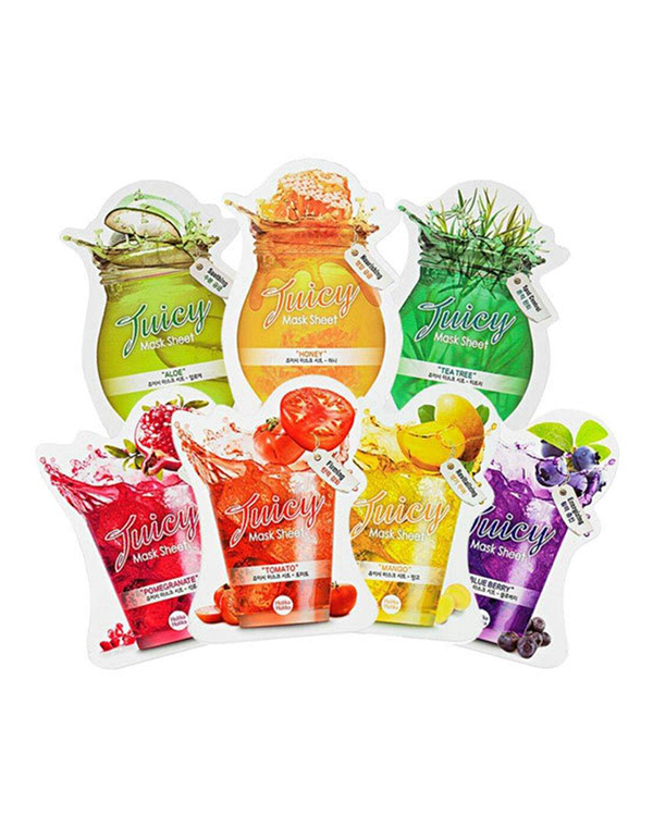 Маска Holika Holika Тканевые маски для лица Juicy Mask, Holika Holika маска holika holika aloe 99% soothing gel jelly mask sheet