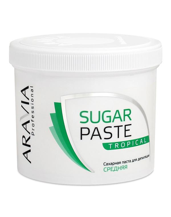 Сахарная паста для депиляции «Тропическая» средней консистенции ARAVIA Professional, 750 гр фото