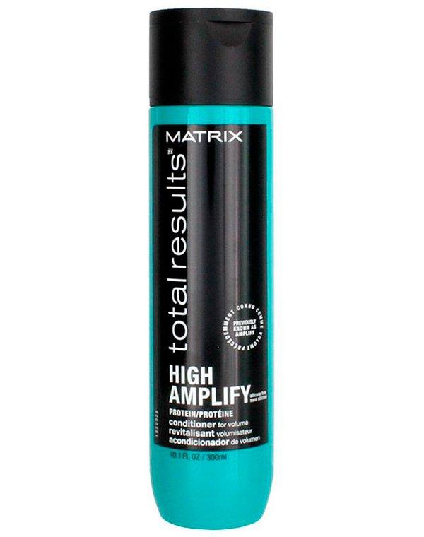 Кондиционер, бальзам MatrixБальзамы для лечения волос<br>Кондиционер для придания объема тонким и ослабленным волосам. Инновационная формула средства обеспечивает защиту, снимает статическое на...<br><br>Бренды: Matrix<br>Вид товара: Кондиционер, бальзам<br>Область ухода: Волосы<br>Назначение: Для объема<br>Тип кожи, волос: Осветленные, мелированные, Окрашенные, Сухие, поврежденные<br>Косметическая линия: Линия Total Results High Amplify для придания объема волосам<br>Объем мл: 1000
