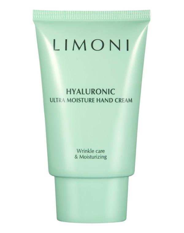 Крем Limoni Крем для рук с гиалуроновой кислотой Hyaluronic Ultra Moisture Hand Cream Limoni, 50 мл крем bioline jato acid cream ph balancing 50 мл