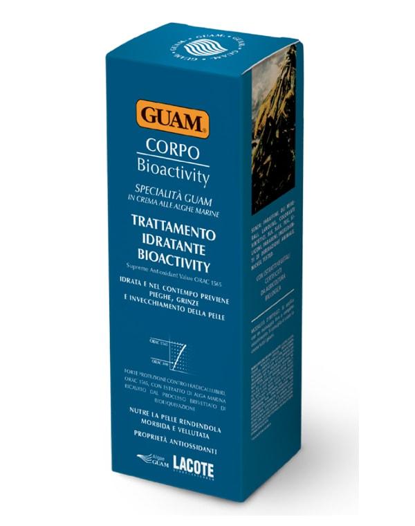 Крем увлажняющий биоактивный для тела, GUAM, 200 мл