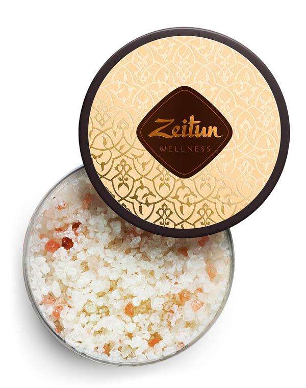 Фото - Соль для ванн ароматическая Ритуал восстановления с органич масл арганы для упругости кожи Zeitun добропаровъ соль для ванн с маслом ели 3005701 300 г