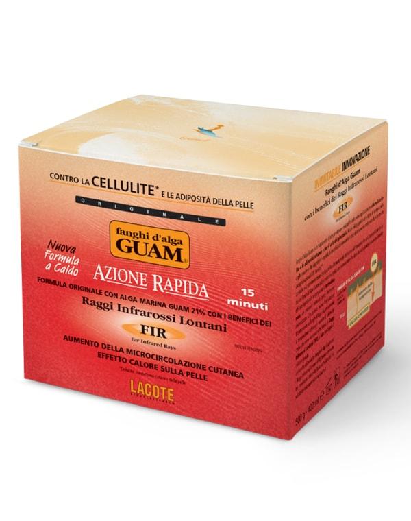 Купить Маска GUAM, Маска антицеллюлитная активная с микрокристаллами Турмалина, GUAM, 500 г