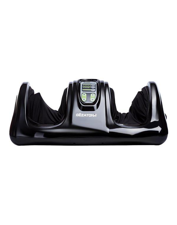 Массажер, аппарат GEZATONEМассажер для ног<br>Массажер для профессионального воздействия на стопы и голени сочетает в себе техники восстанавливающего массажа Шиацу с интенсивным роликовым массажем. Быстро снимает усталость, улучшает самочувствие.<br><br>Бренды: GEZATONE<br>Вид товара: Массажер, аппарат<br>Область ухода: Ноги<br>Назначение: Массаж ног и рук<br>Метод воздействия: Механический массаж