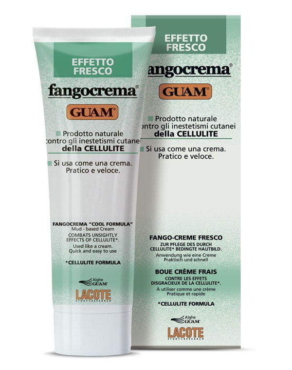 Крем антицеллюлитный с освежающим эффектом на основе грязи, GUAM, 250 мл guam крем антицеллюлитный с охлаждающим эффектом для массажа snell 250 мл