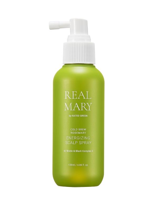 Купить Спрей, мусс, аэрозоль Rated Green, Спрей для кожи головы регенерирующий с соком розмарина Energizing Scalp Spray 120мл Rated Green