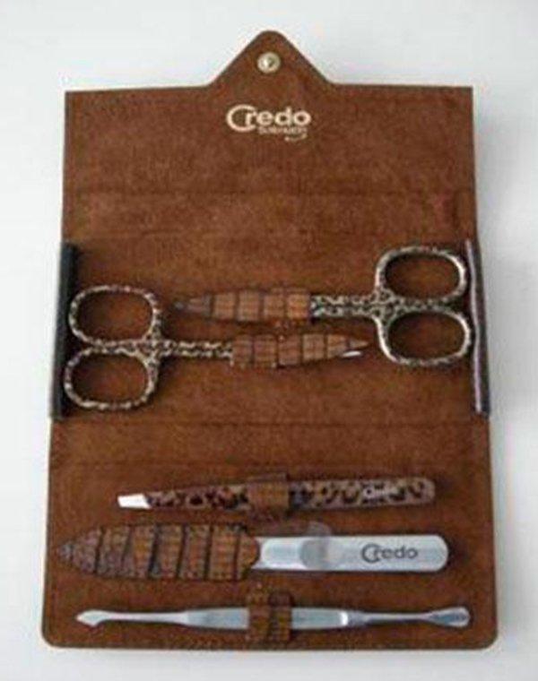 Solingen CREDO Маникюрный набор из 5 предметов Credo Ящерица