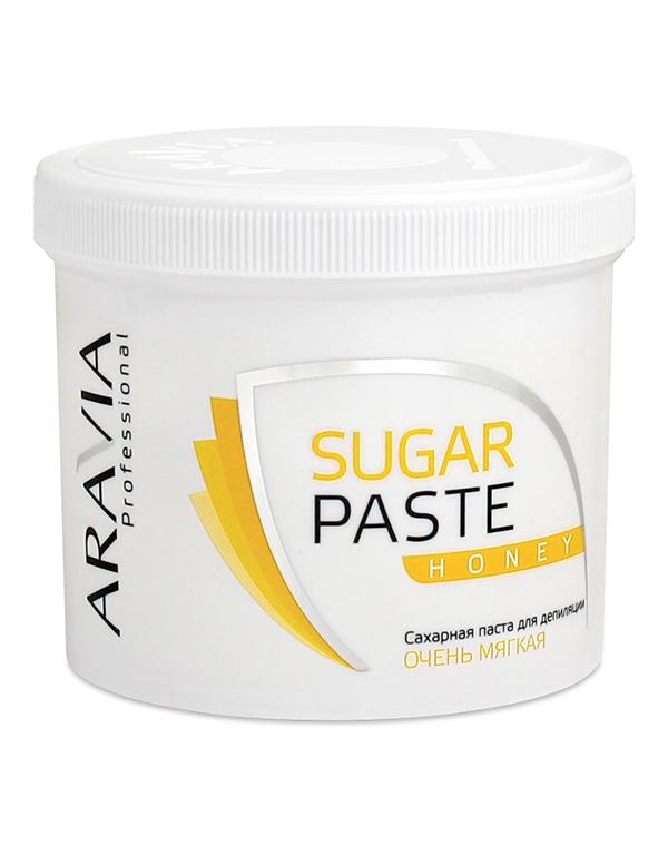 Сахарная паста для депиляции «Медовая» очень мягкой консистенции ARAVIA Professional, 750 гр сахарная паста для депиляции медовая очень мягкой консистенции 750 гр