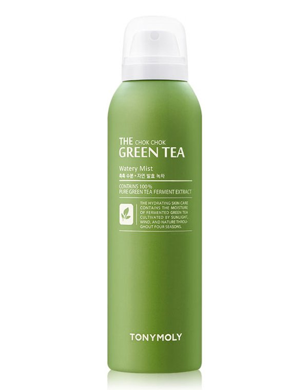 Тоник, лосьон Tony Moly Мист для лица с экстрактом зеленого чая The ChokChok Green Tea Watery Mist 50, Tony Moly тоник tony moly the chok chok green tea watery skin toner 180 мл