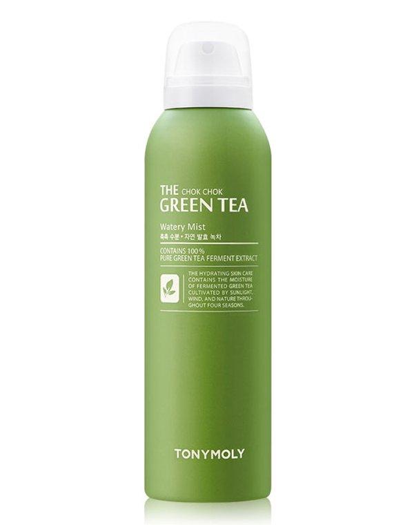 Тоник, лосьон Tony Moly Мист для лица с экстрактом зеленого чая The ChokChok Green Tea Watery Mist 50, Tony Moly тоник it s skin green tea watery toner
