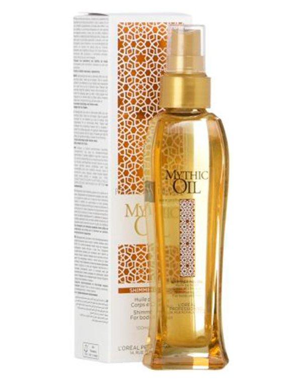 Масло для волос Loreal Professional Мерцающее масло для волос и тела Mythic Oil, Loreal