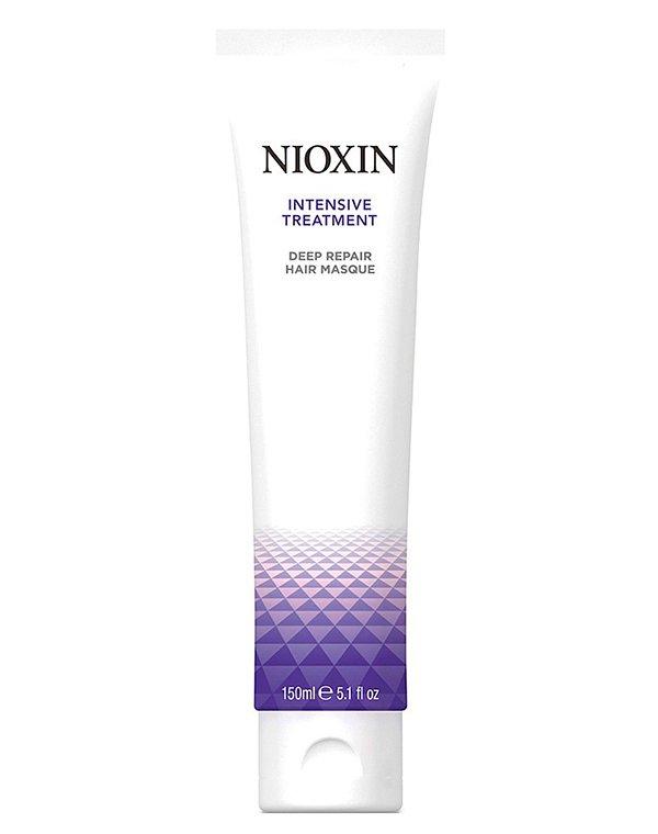 Маска для глубокого восстановления волос Intensive Treatment NioxinМаски для сухих волос<br>Интенсивное питание и укрепление волос, минимизирует ломкость и сечение.<br><br>Бренды: Nioxin<br>Вид товара: Маска для волос<br>Область ухода: Волосы<br>Назначение: Восстановление волос, Стимуляция роста, Восстановление и защита<br>Тип кожи, волос: Осветленные, мелированные, Окрашенные, Вьющиеся, Сухие, поврежденные, Нормальные, Чувствительная, Тонкие<br>Косметическая линия: Линия восстановления и укрепления волос<br>Объем мл: 500