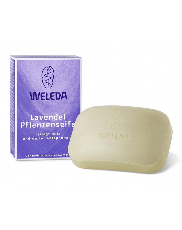 Лавандовое растительное мыло, Weleda - Косметика для тела