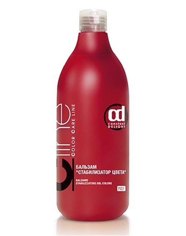 Кондиционер, бальзам Constant DelightБальзамы для окрашеных волос<br>Бальзам имеет кислотную формулу. Поэтому он идеален для завершения процедуры окрашивания волос. Препарат надежно фиксирует цвет и позволя...<br><br>Бренды: Constant Delight<br>Вид товара: Кондиционер, бальзам<br>Область ухода: Волосы<br>Назначение: Восстановление волос, Защита цвета<br>Тип кожи, волос: Окрашенные<br>Косметическая линия: Color care line Восстановление и защита цвета волос