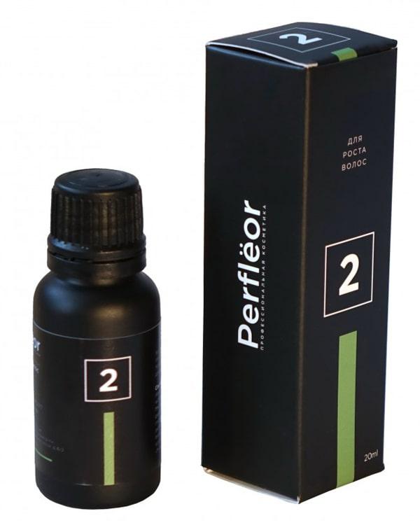 Кислородная эмульсия 2 для роста волос, Perfleor, 20 мл фото