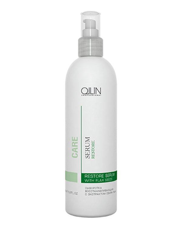 Сыворотка восстанавливающая с экстрактом семян льна Restore Serum with Flax Seeds OllinМасла от секущихся кончиков<br>Идеально подходит для ухода за поврежденными волосами, наполняет их жизненным тонусом и блеском.<br><br>Бренды: Ollin<br>Вид товара: Сыворотка, флюид, Несмываемый уход, защита<br>Область ухода: Волосы<br>Назначение: Выпрямление, Для секущихся кончиков<br>Тип кожи, волос: Осветленные, мелированные, Окрашенные, Вьющиеся, Сухие, поврежденные, Жирные, Нормальные, Тонкие<br>Косметическая линия: Линия Care уход за волосами и кожей головы
