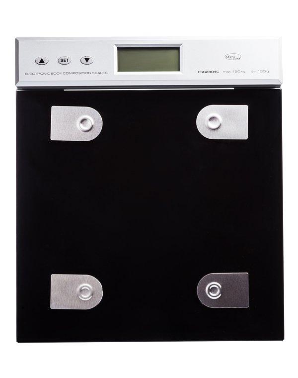 Весы GEZATONE ESG2804C Весы напольные с анализатором содержания жира и жидкости Gezatone