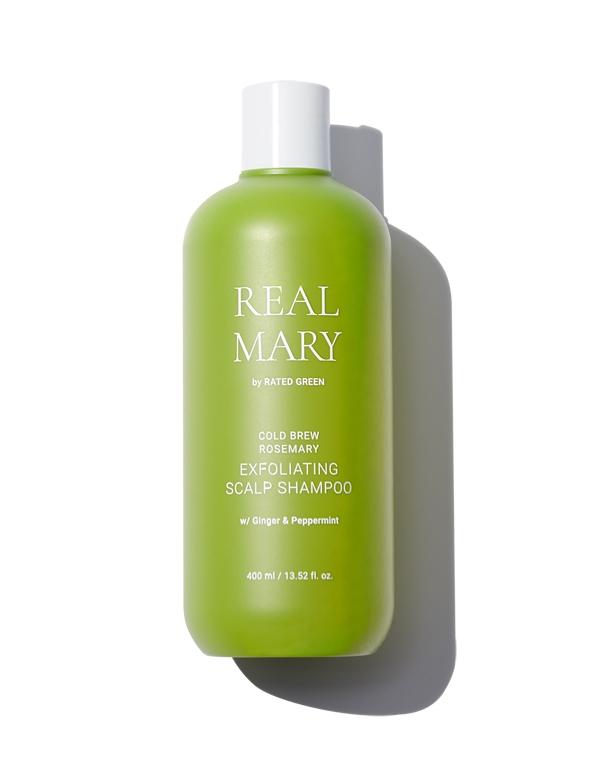 Купить Шампунь Rated Green, Шампунь глубоко очищающий и отшелушивающий с соком розмарина Exfoliating Scalp Shampoo 400мл Rated Green