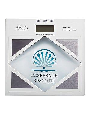 Весы GEZATONE ESG2804А Весы напольные Созвездие красоты с анализатором жира и воды Gezatone
