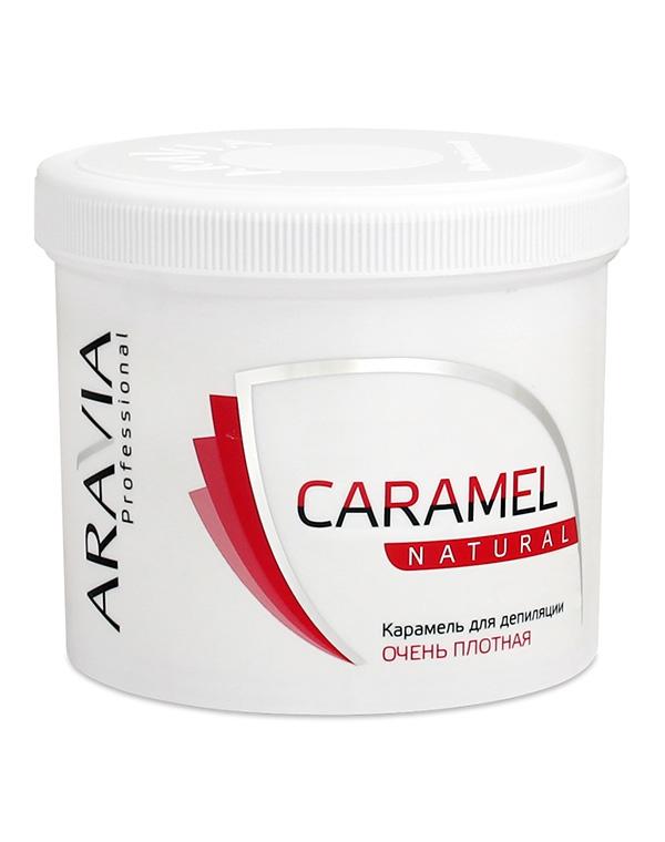 Карамель для депиляции «Натуральная» очень плотной консистенции ARAVIA Professional, 750 гр