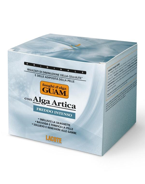 Купить Маска GUAM, Маска антицеллюлитная с интенсивным охлаждающим эффектом, GUAM, 500 мл