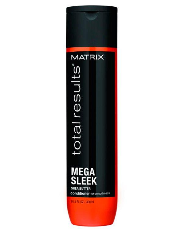 Кондиционер, бальзам MatrixБальзамы для лечения волос<br>Кондиционер для интенсивного увлажнения волос. Восстанавливает структуру кутикулы, борется с образованием секущихся кончиков и хрупкостью волос. Локоны становятся мягкими и послушными, облегчается их расчесывание.<br><br>Бренды: Matrix<br>Вид товара: Кондиционер, бальзам<br>Область ухода: Волосы<br>Назначение: Выпрямление, Для секущихся кончиков<br>Тип кожи, волос: Осветленные, мелированные, Окрашенные, Сухие, поврежденные<br>Косметическая линия: Линия Total Results Mega Sleek для гладкости волос<br>Объем мл: 300