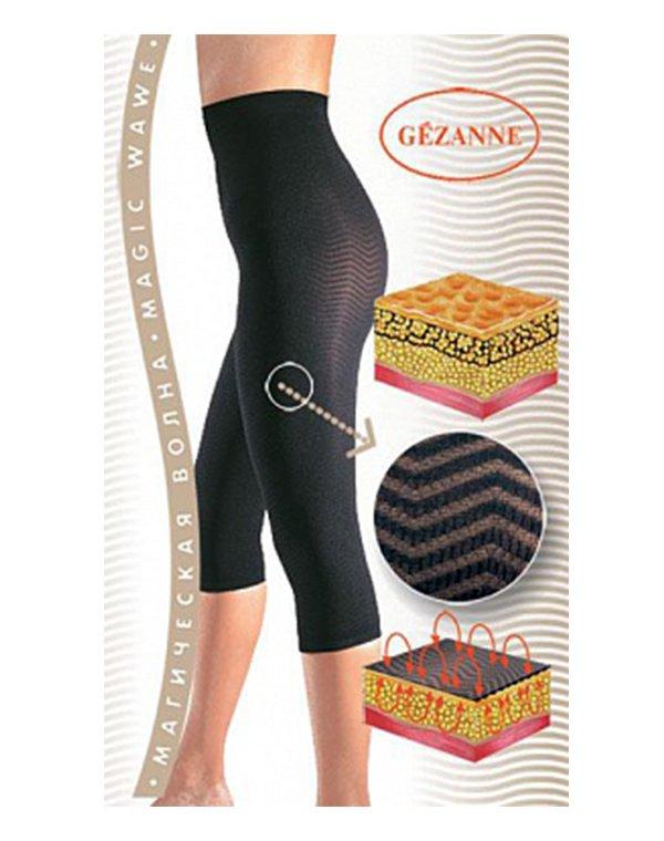 Бриджи Магическая волна Безупречная фигура Gezanne, черные, р. SПоврежденная упаковка<br><br><br>Бренды: GEZANNE