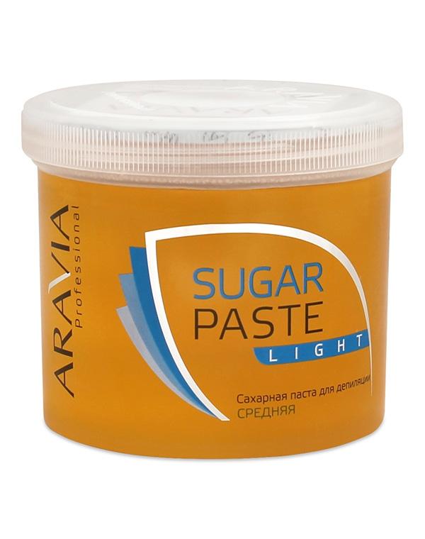 Купить Косметика для депиляции Aravia, Сахарная паста для депиляции «Легкая» средней консистенции ARAVIA Professional, 750 гр