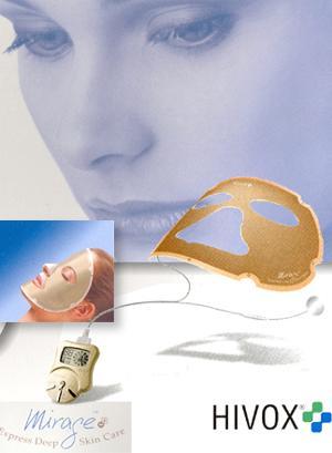 Массажер, аппарат HIVOX Ионная маска HIVOX Прибор по уходу за кожей лица