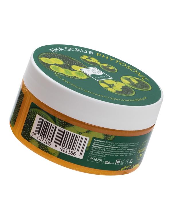Пилинг, скраб Beauty Style Антицеллюлитный сахарный скраб для тела AHA Scrub Phytosoniс  Beauty Style, 200 мл